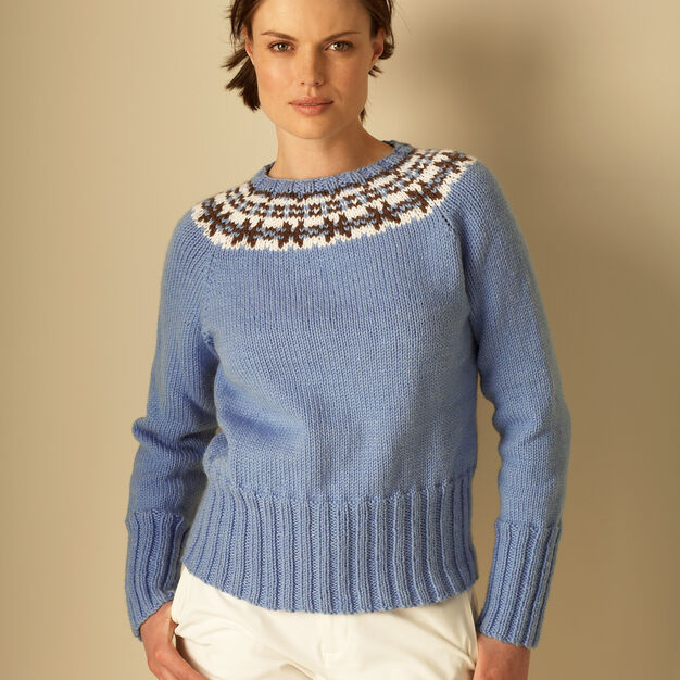 Bernat Natural Elements Fair Isle, XS/S in color