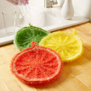 Red Heart Splash of Citrus Scrubby
