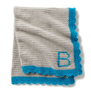 Go to Product: Bernat Crochet Monogram Baby Blanket in color