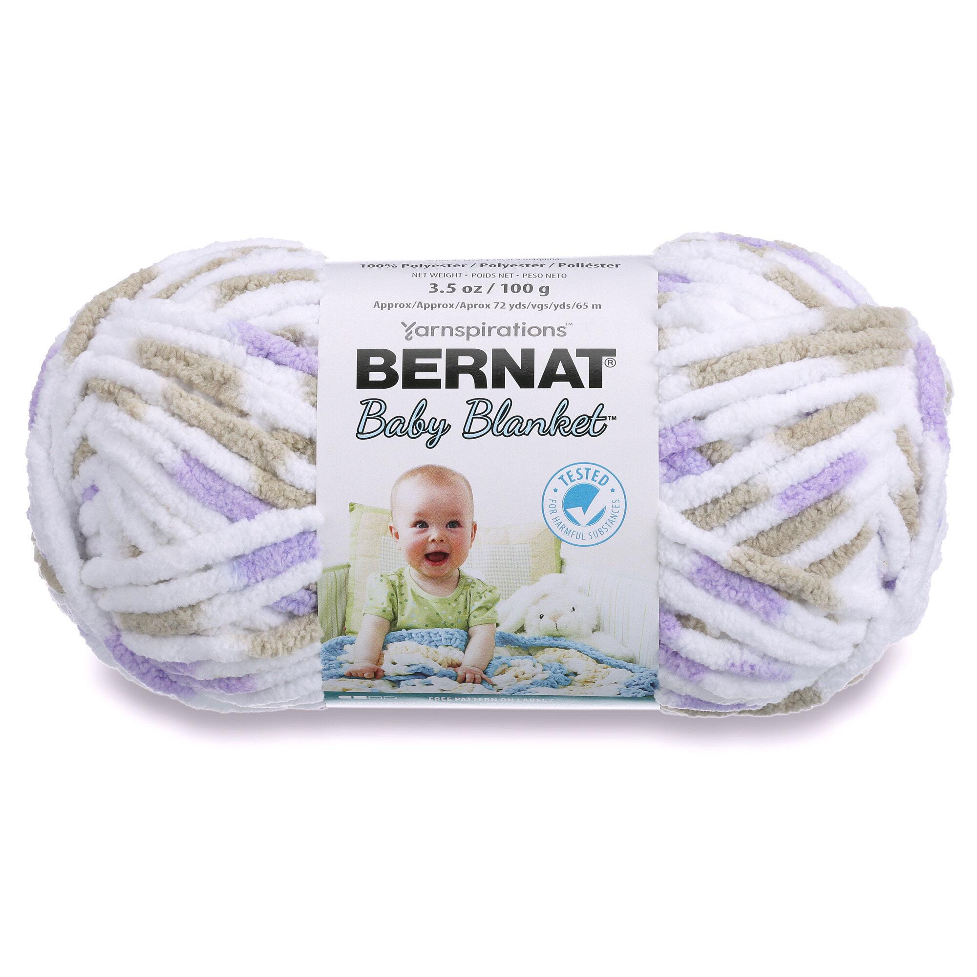 Bernat Baby Blanket Yarn (100g/3 5 oz), Little Lilac Dove