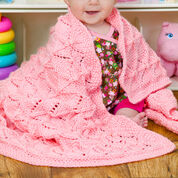 Red Heart Precious Baby Blanket