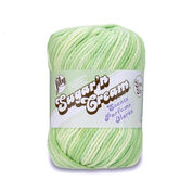 Lily Sugar'n Cream Super Size Scents Yarn, Aloe Vera