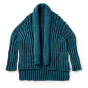 Patons Wrap It Up Knit Cardigan, XS/S/M