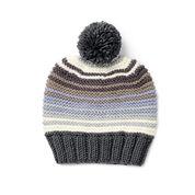 Caron x Pantone Garter Stitch Knit Hat