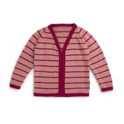 Go to Product: Caron Knit Contrast Trim Cardigan, XS/S in color