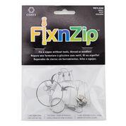 Coats & Clark FixnZip Replacement Zipper Slider, Small, Nickel