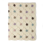Go to Product: Patons Little Dots Will Do Ya Crochet Blanket in color