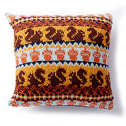 Go to Product: Patons Autumn Harvest Knit Pillow in color