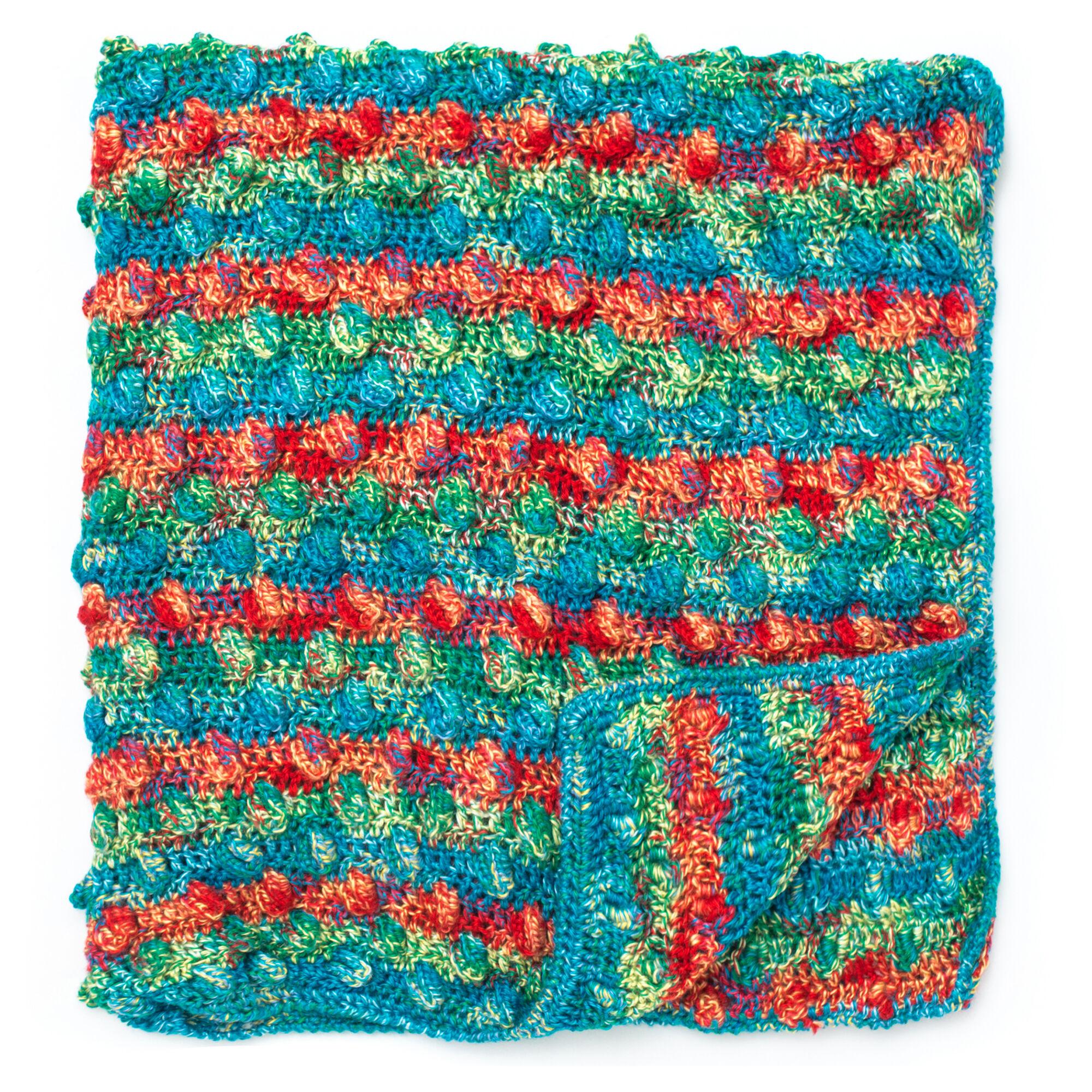 Bernat Color Pops Blanket | Yarnspirations