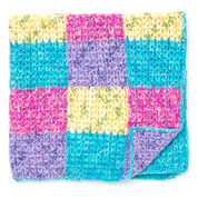 Bernat Color Block Panels Blanket