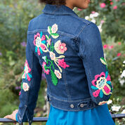 Aunt Lydia's Be-Flowered Denim Jacket