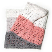 Go to Product: Red Heart One Ball Easy Striped Blanket in color