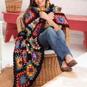 Go to Product: Red Heart Traditional Granny Throw in color