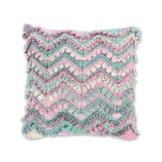Go to Product: Bernat Symphony Chevron and Entrelac Knit Pillow in color