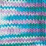 Lily Sugar'n Cream Ombres Yarn, Beach Ball Blue Ombre in color Beach Ball Blue Ombre