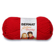 Go to Product: Bernat Softee Chunky Yarn (100g/3.5oz) in color Berry Red
