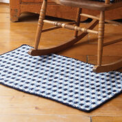 Lily Sugar'n Cream Gingham Check Rug, Red