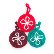 Caron North Star Ornament, Red