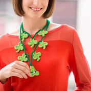 Go to Product: Red Heart Shamrock Charm Necklace in color