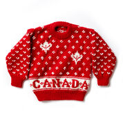 Patons Canada Knit Kid's Sweater , Size 4