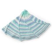 Caron Radiant Rays Crochet Blanket