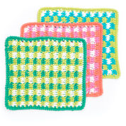Go to Product: Lily Sugar'n Cream Mod Gingham Dishcloth, Size 1 in color
