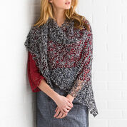 Red Heart Pineapple Lace Shawl