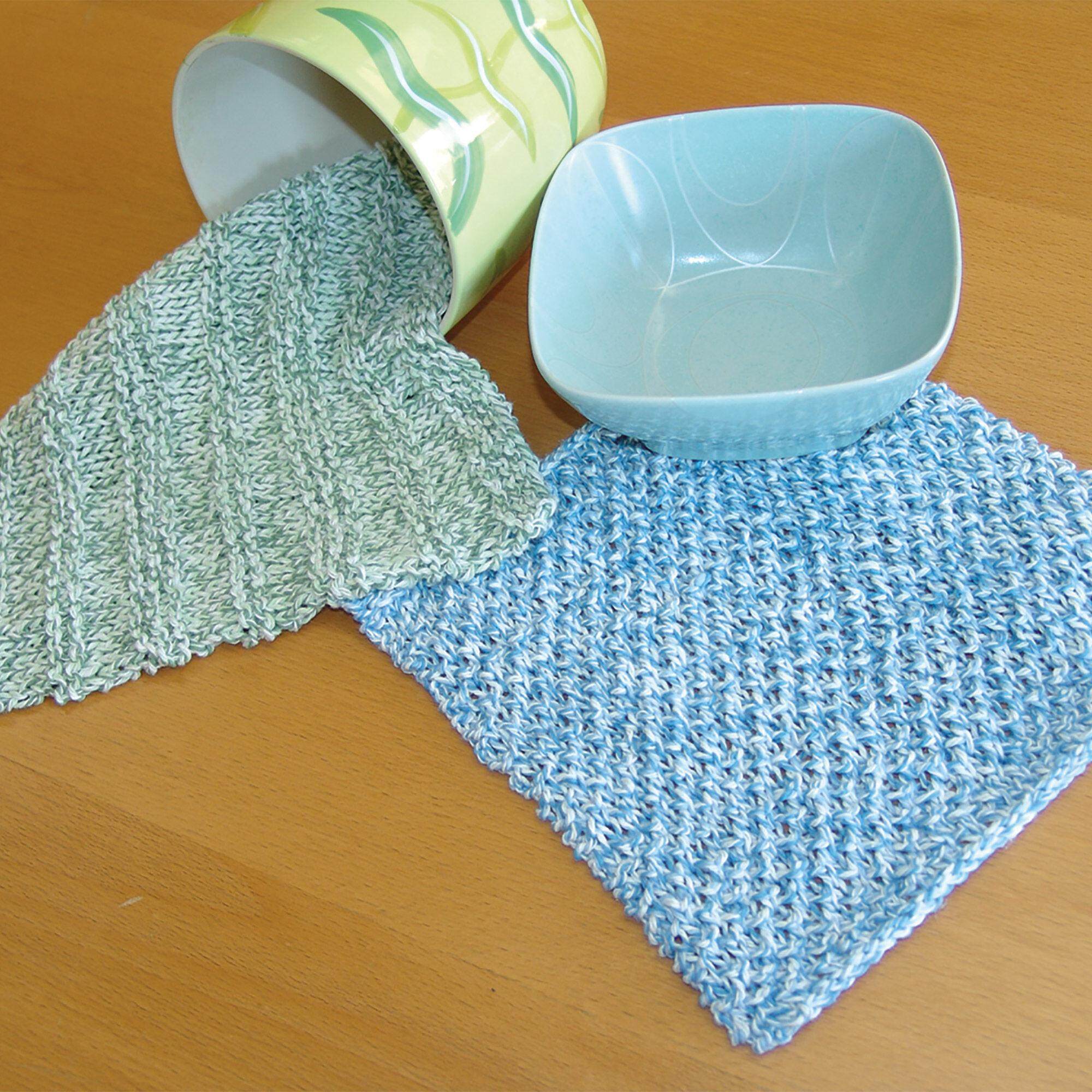 Bernat Dishcloths, Ridged | Yarnspirations