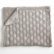 Bernat Cozy Triangles Knit Throw