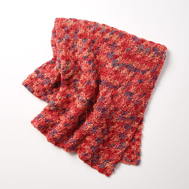 Bernat Tumbling Blocks Baby Blanket