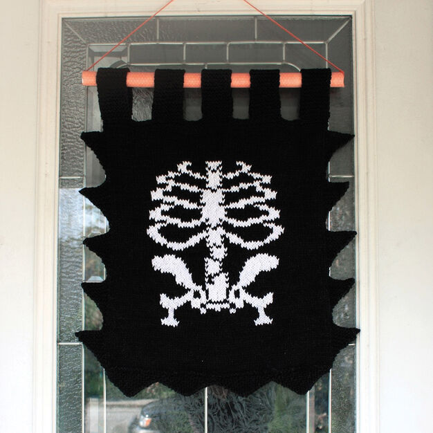 Lily Sugar'n Cream Skeleton Banner