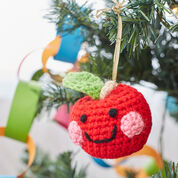 Go to Product: Red Heart Cheeky Apple Ornament in color