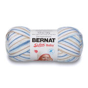 Bernat Softee Baby Variegates Yarn, Little Boy Blue Ombre