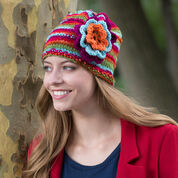 Go to Product: Red Heart Beanie in Bloom in color