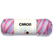 Caron Simply Soft Stripes Yarn, Times Square