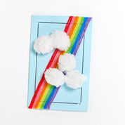 Go to Product: Red Heart Rainbow and Clouds Greeting Card in color