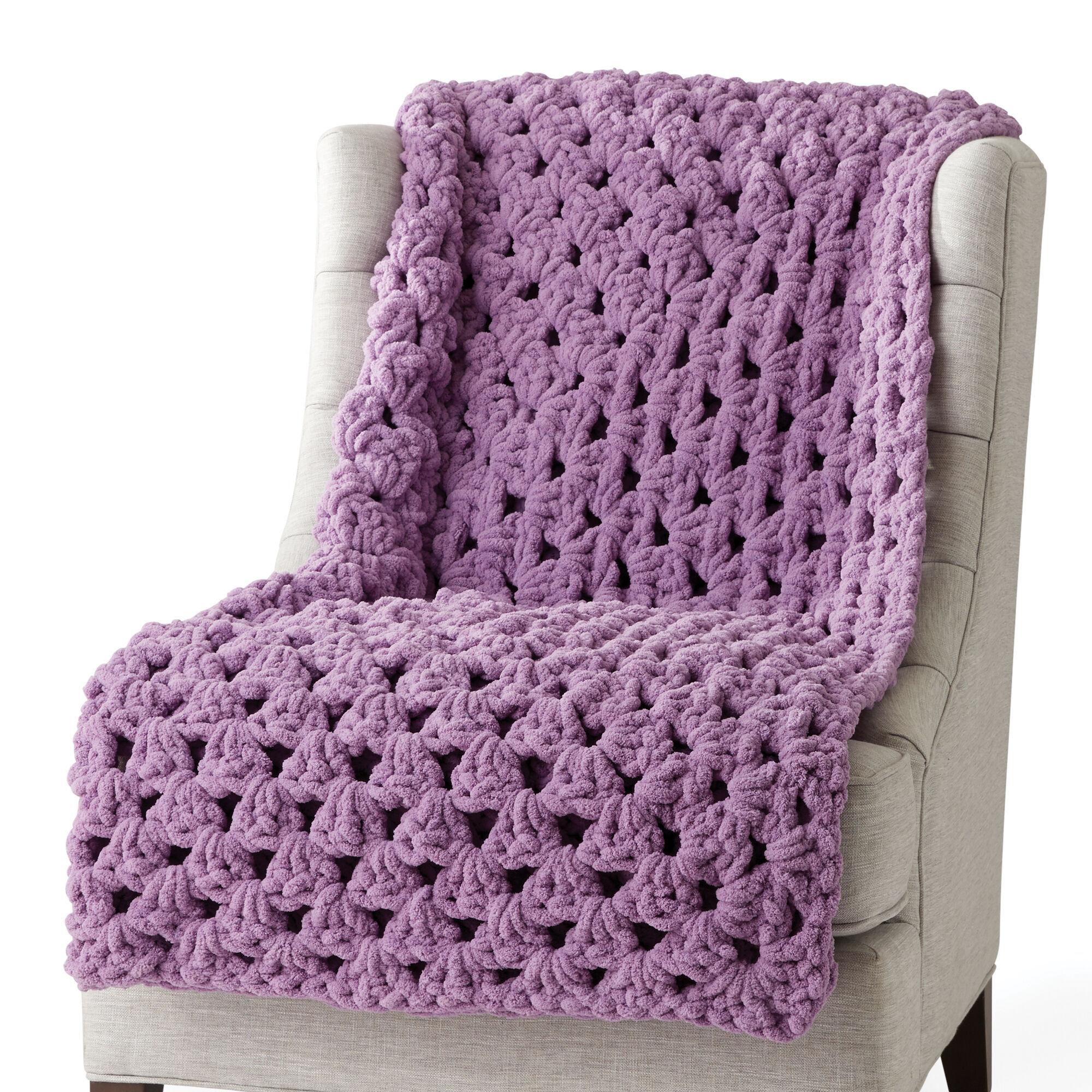 Bernat Granny Rectangle Crochet Afghan Pattern Yarnspirations