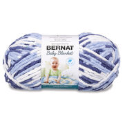 Go to Product: Bernat Baby Blanket Yarn (300g/10.5 oz), Blue Dreams in color Blue Dreams