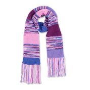 Go to Product: Red Heart Color Block Shaker Rib Knit Scarf in color