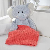 Go to Product: Red Heart Bright and Cuddly Basketweave Blanket in color