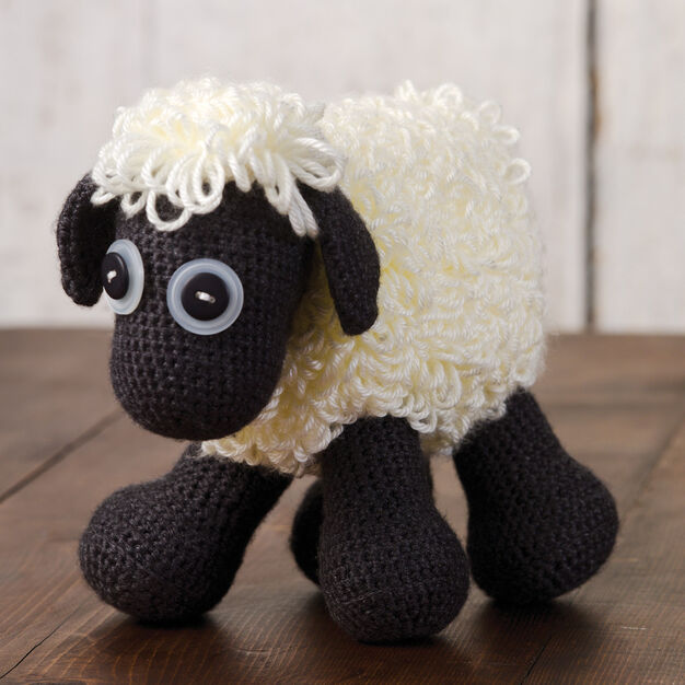 Caron Sheep Toy in color