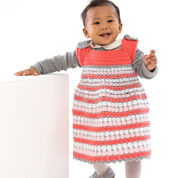 Red Heart Artisan Baby Jumper, 6 mos