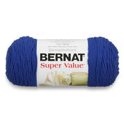 Go to Product: Bernat Super Value Yarn, Royal Blue in color Royal Blue