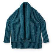 Patons Wrap It Up Knit Cardigan, XS/S/M