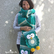 Go to Product: Bernat Owl Crochet Super Scarf in color