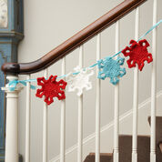 Go to Product: Red Heart Snowflake Garland in color