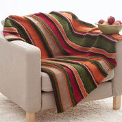 Bernat Basic Stripes Blanket