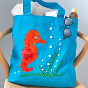 Go to Product: Coats & Clark Horsin' Around Beach Tote in color