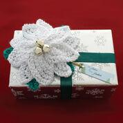 Bernat Poinsettia Gift Topper