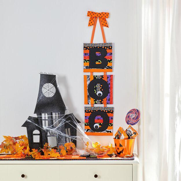 Dual Duty Halloween Boo Banner